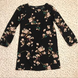 Lulu's Long Sleeve Floral Dress